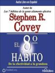 Portada del libro el 8 hábito
